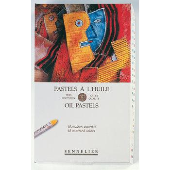 SENNELIER Boîte carton Pastel Huile Universel 48 Pastels