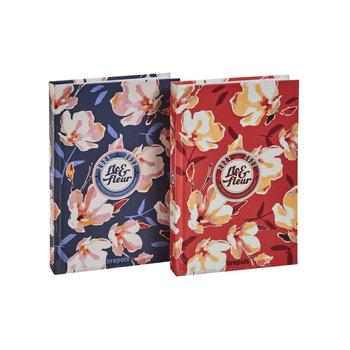 BREPOLS Agenda scolaire 1 jour par page Flo & Fleur 11,5x16,9cm couleurs aléatoires