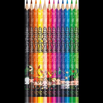 MAPED 12 crayons de couleur HARRY POTTER. en pochette carton