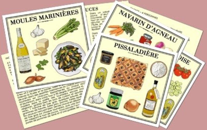MARC VIDAL 25 Recettes Traditionnelles Françaises