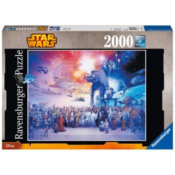 RAVENSBURGER Puzzle 2000 p - L'univers Star Wars
