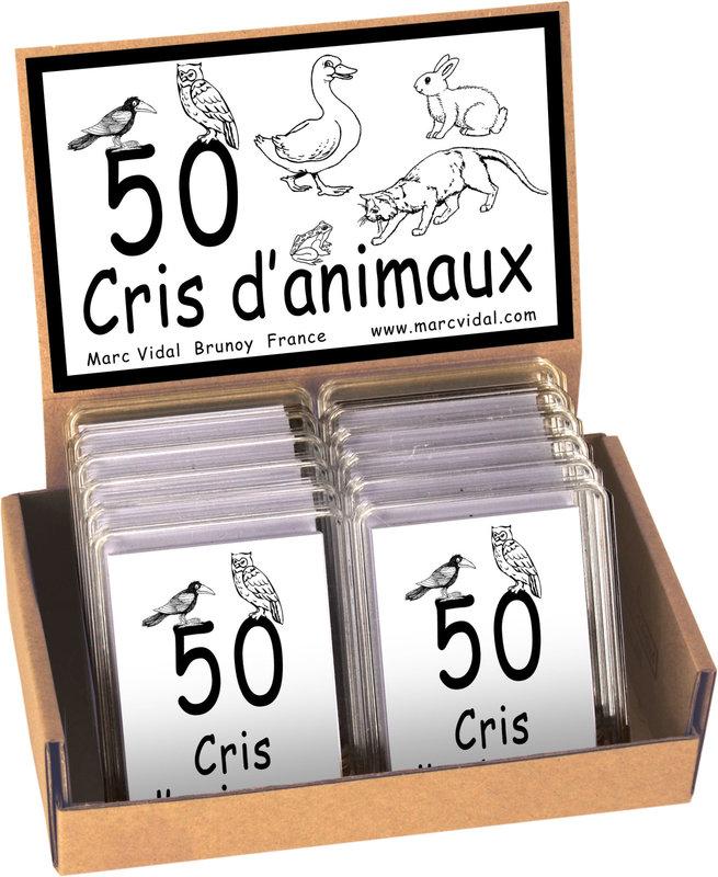 MARC VIDAL 50 Cris d'animaux