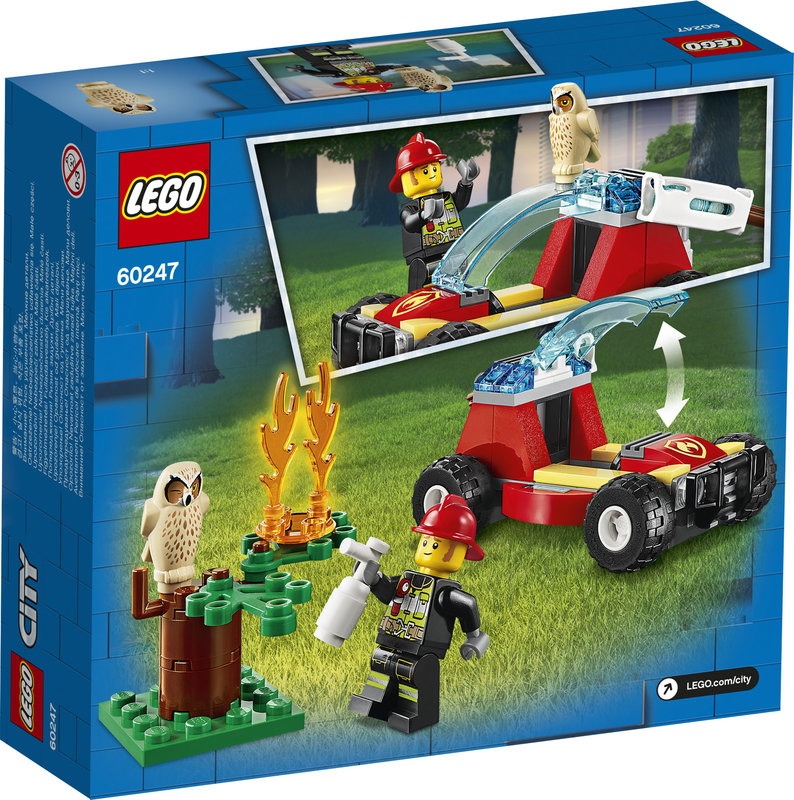 LEGO 60247 Le feu de forêt