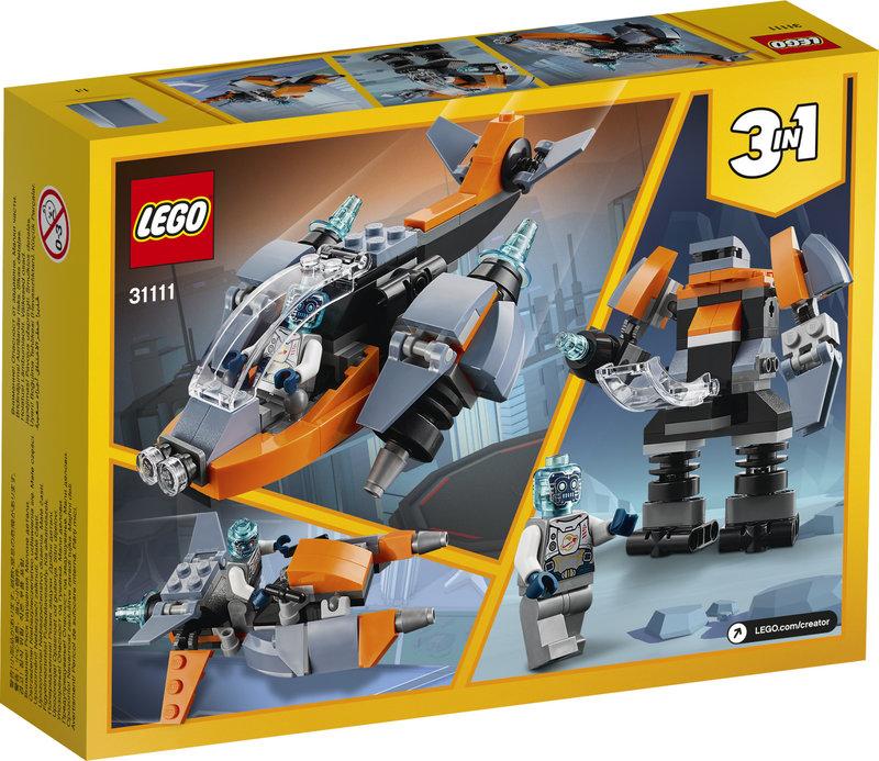 LEGO 31111 Le cyber drone
