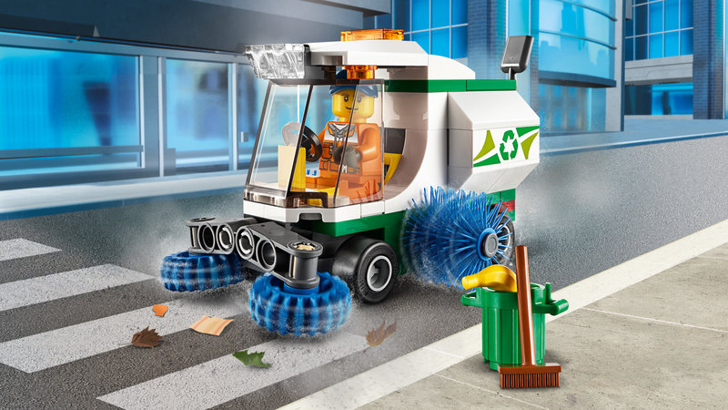 LEGO 60249 La balayeuse de voirie