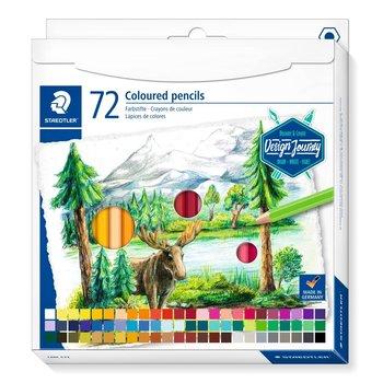 STAEDTLER STAEDTLER® 146C Design Journey - Etui carton 72 crayons de couleur assortis