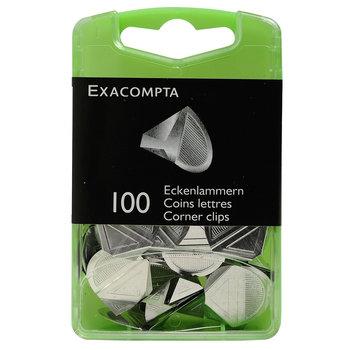 EXACOMPTA Boite 100 Coins Lettres
