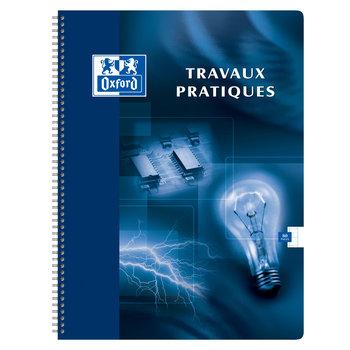 OXFORD Cahier de travaux pratiques OXFORD intégrale 24x32 80 pages 90gr. 120gr. Seyes / Uni