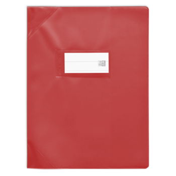 OXFORD Protège-Cahier Oxford Strgline 17X22 Rouge