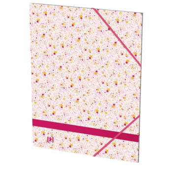 OXFORD Chemise Elastique 3 Rabats. Oxford Flowers A4