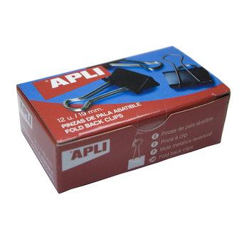 APLI Pinces à clip 19 mm 12 unités