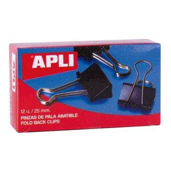 APLI Pinces à clip 25 mm 12 unités