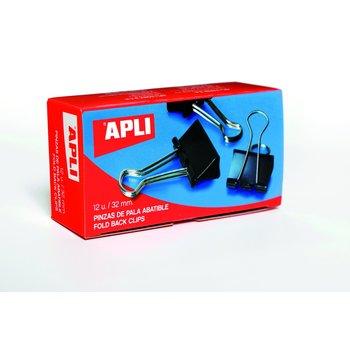APLI Pinces à clip 32 mm 12 unités