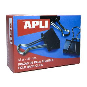 APLI Pinces à clip 41mm 12 unités