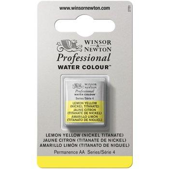 WINSOR & NEWTON Professional Aquarelle 1/2 Godet 347 Jaune Citron (Nkl Tit)