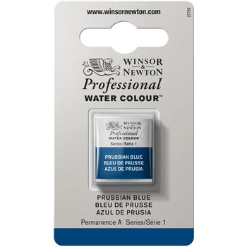 WINSOR & NEWTON Professional Aquarelle 1/2 Godet 538 Bleu De Prusse