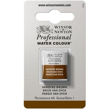 WINSOR & NEWTON Professional Aquarelle 1/2 Godet 676 Brun Van Dyck