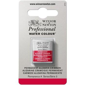 WINSOR & NEWTON Professional Aquarelle 1/2 Godet 466 Alizarine Cramoisie Permanent