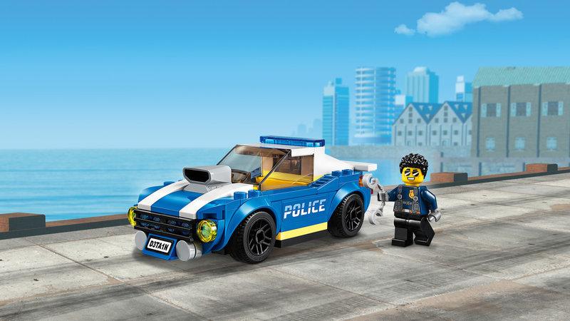 LEGO 60242 La course-poursuite sur l'autoroute