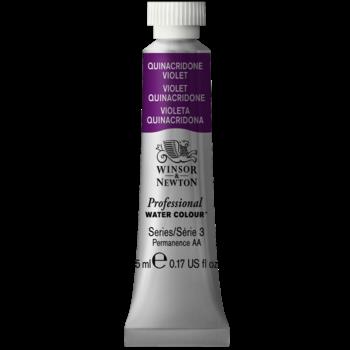 WINSOR & NEWTON Professional Aquarelle 5Ml 550 Quinacridone Violet