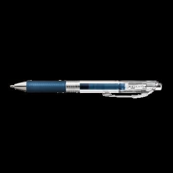 PENTEL Rollers gel rétractables, EnerGel Pure Pointe moyenne 0,7mm. Encre bleue nuit