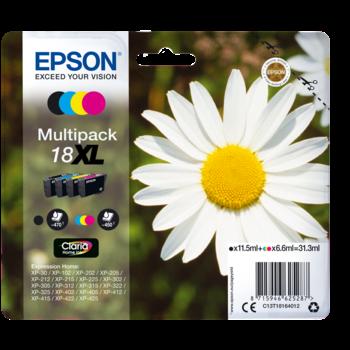 "EPSON Multipack ""Pâquerette"" 18 XL - Encre Claria Home"