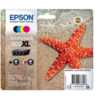 """EPSON Multipack """"Etoile de Mer"""" 603 Ink XL"""