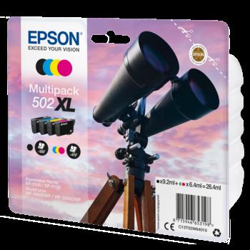 "EPSON Multipack ""Jumelles"" 502 XL - Encres DURABrite Ultra"