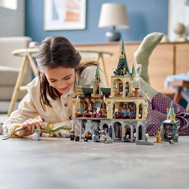 LEGO 76389 La Chambre des Secrets de Poudlard