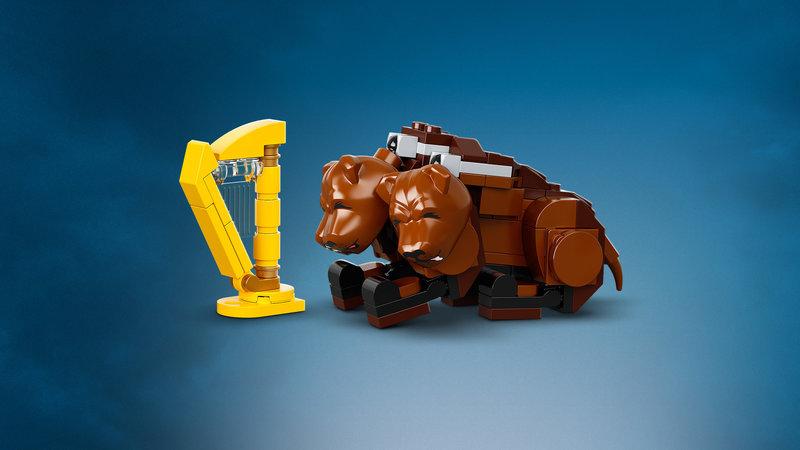 LEGO 76387 Poudlard : rencontre avec Touffu