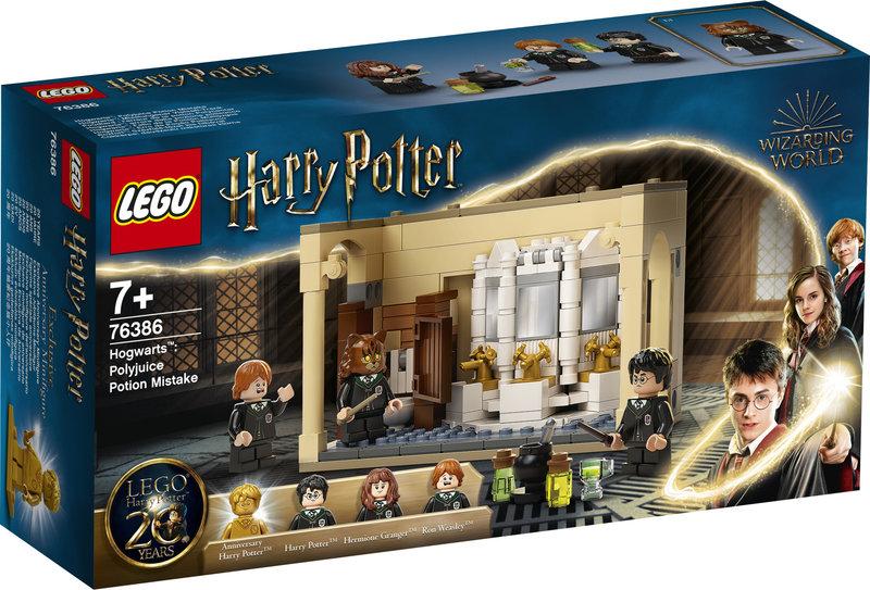 LEGO 76386 Poudlard : l'erreur de la potion Polynectar