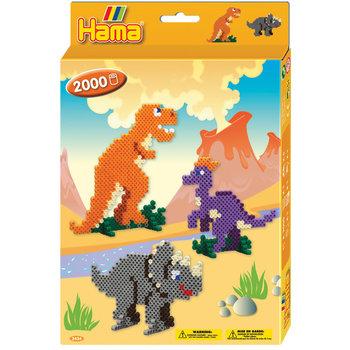 HAMA Midi Boîte PM Le monde des dinosaures