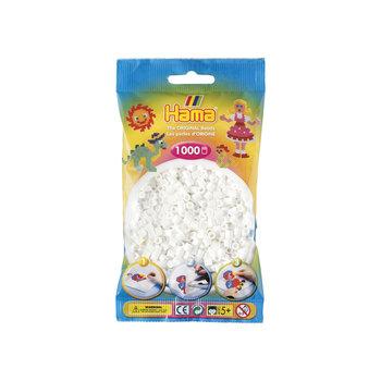 HAMA Midi Sachet 1000 perles blanche
