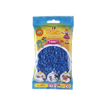 HAMA Midi Sachet 1000 perles bleu