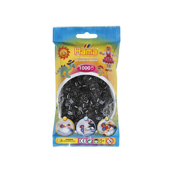 HAMA Midi Sachet 1000 perles noir