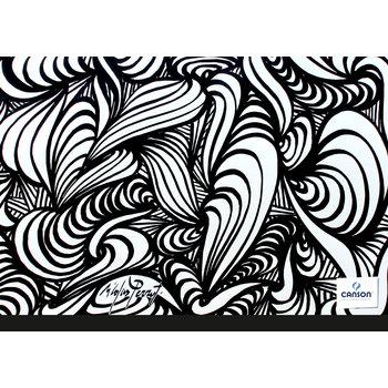 CANSON Carton à Dessin Studio Creatif Canson® 2 Elastiques 32X45Cm Edition Artiste modèles aléatoires