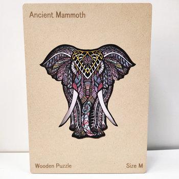 HAPPY PUZZLE Puzzle en bois Elephant 28,7 x 28 cm