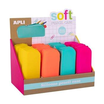 APLI Trousse en silicone Soft Fluo