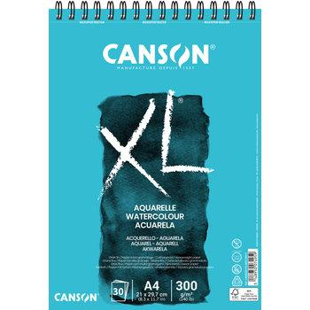 CANSON Album 30Fl Xl® Aquarelle A4 300G Grain Fin White