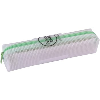 APLI Trousse zipper bag Vert pastel