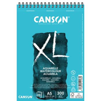 CANSON Album 20Fl Xl® Aquarelle A5 300G Grain Fin White