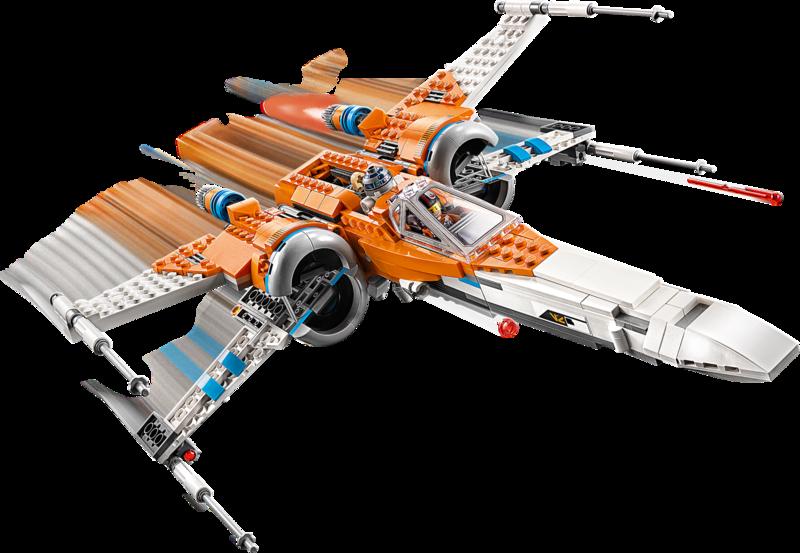 LEGO 75273 Le chasseur X-wing de Poe Dameron