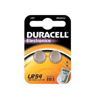 DURACELL Pack de 2 piles LR54