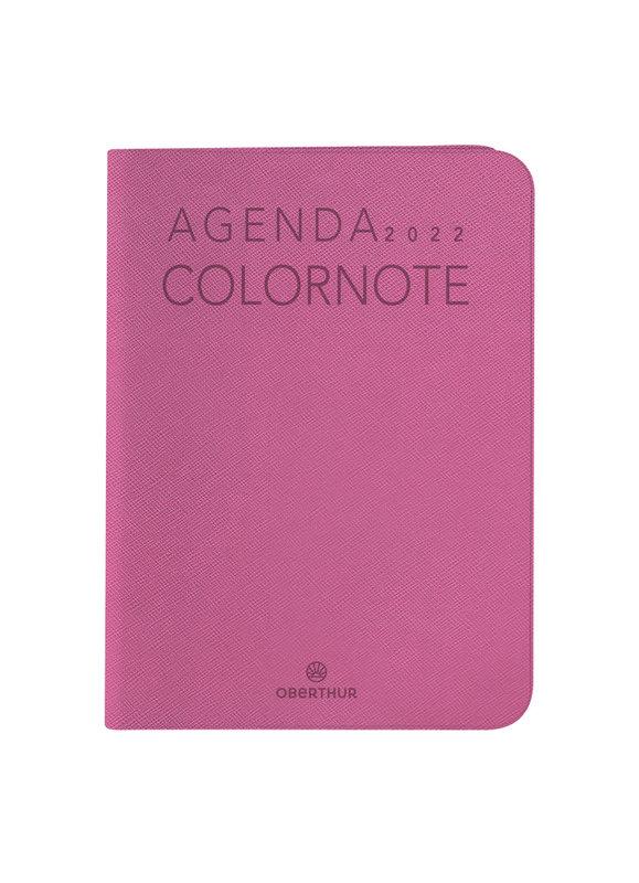 OBERTHUR Agenda civil Colornote semainier horizontal 7,5x10,5cm coloris aléatoires