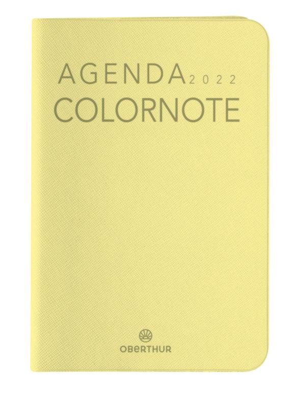 OBERTHUR Agenda civil Colornote semainier 10x15cm coloris aléatoires