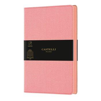 CASTELLI Carnet Harris grand format ligné rose