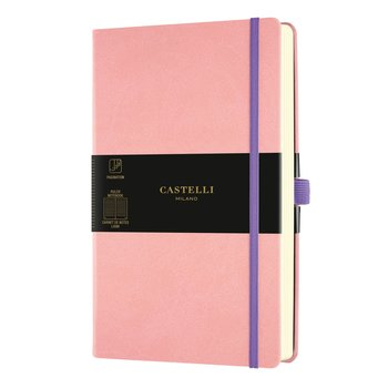 CASTELLI Carnet Harris format poche ligné rose