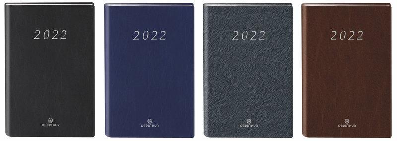 OBERTHUR Agenda civil Oslo semainier 9x13cm coloris aléatoires
