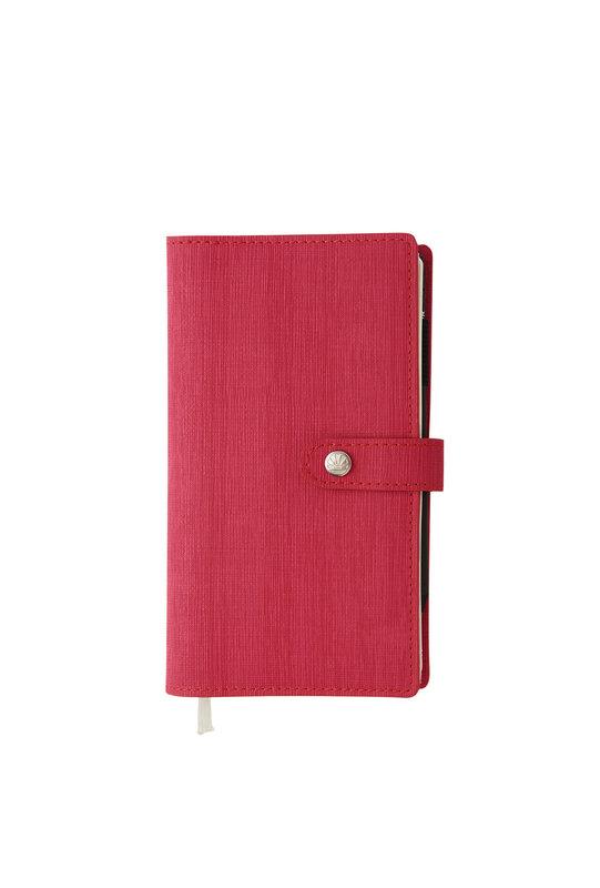 OBERTHUR Agenda civil Lady Kent S semainier horizontal 9x16,5cm coloris aléatoires