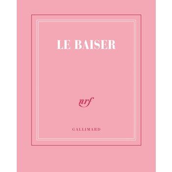 """GALLIMARD Carnet poche rose ligné """"LE BAISER"""""""